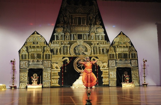 Dance concert arangetram classical bharatanatyam arts for Arangetram stage decoration ideas
